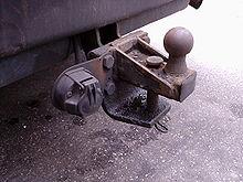 barre de traction voiture autorisé