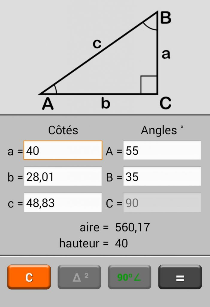 calculer intensité